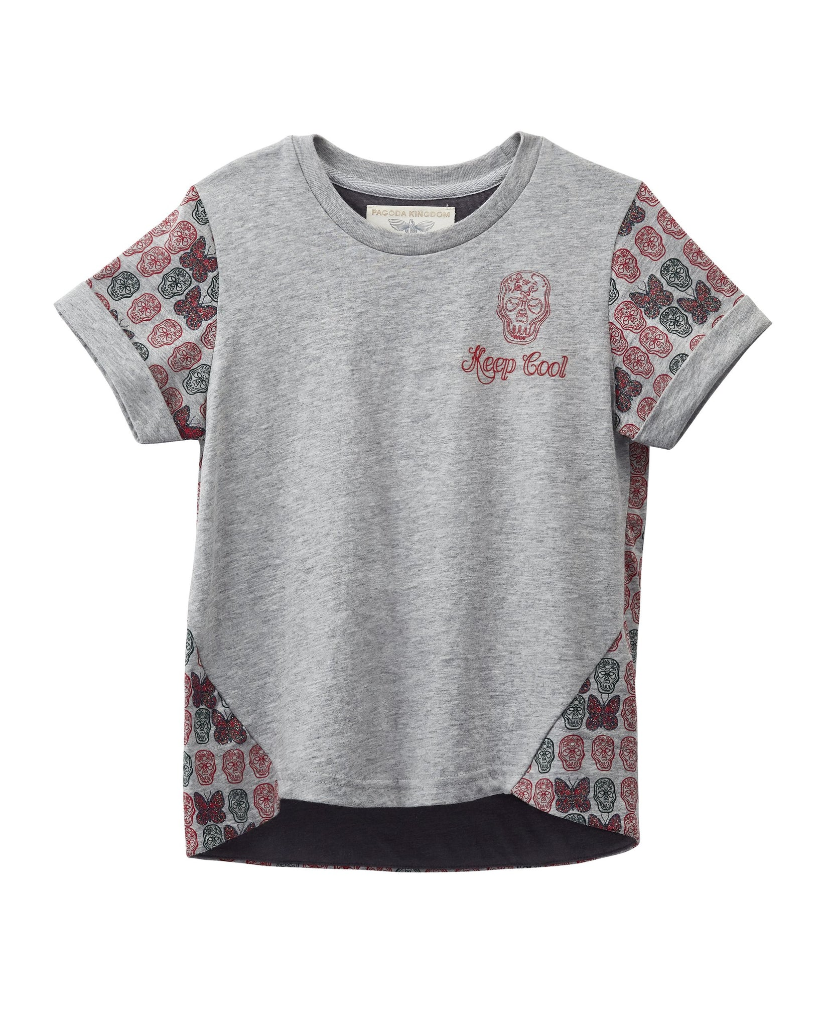 MANO PLUS | Pagoda Kingdom | Keep Cool Skull T-Shirt