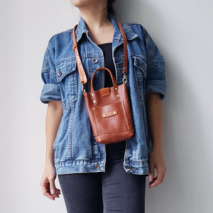 KINIES HANDMADE: Mini Tote & Sling Phone Bag