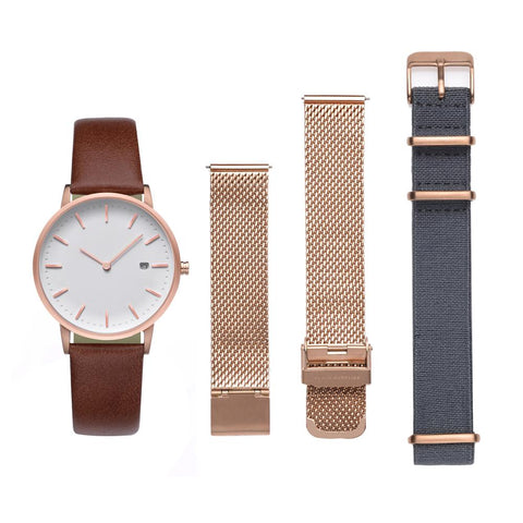 PLAIN SUPPLIES The Everyday Watch II: Rose Gold