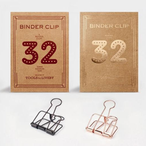 Tools to Liveby Binder Clip - 32