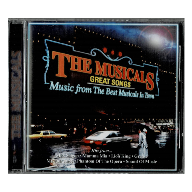 Music CD : The Musicals Great Songs