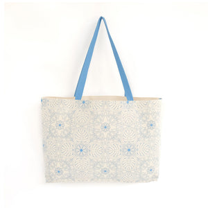 Tropical Leaf Carry All Shopping Bag