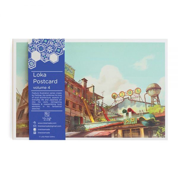 Mano Plus Postcard Fantascene Vol 2