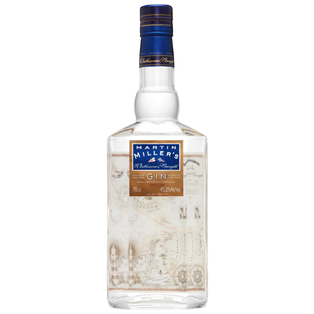 Martin Miller's Westbourne Strength Gin 45.2% Alcohol 700ml