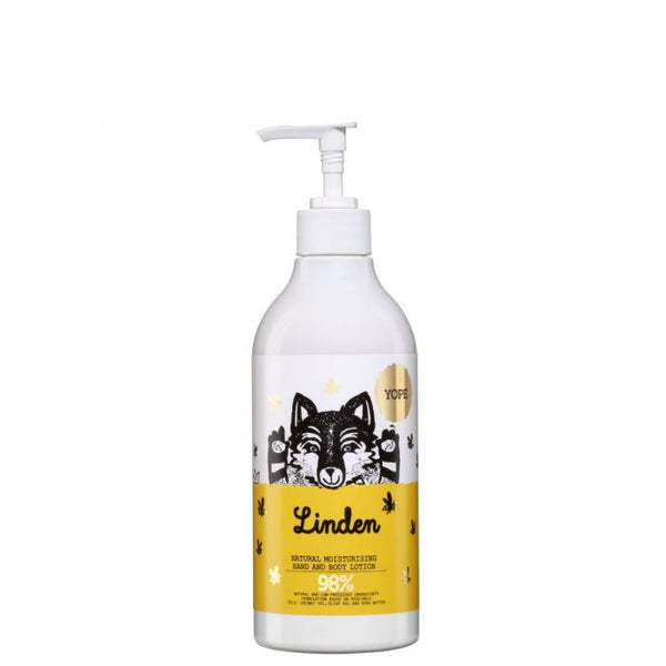 YOPE Natural Body and Hand Lotion: Linden Blossom