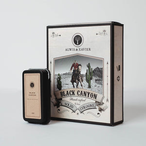 ALWIS & XAVIER Solid Cologne: Black Canyon