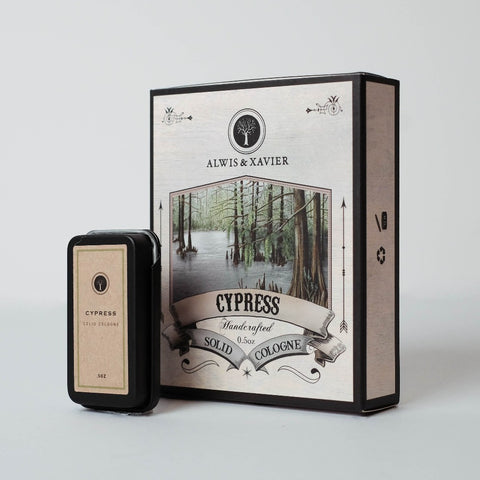 ALWIS & XAVIER Solid Cologne: Cypress