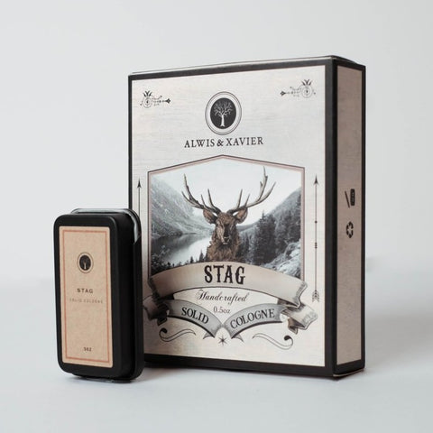 ALWIS & XAVIER Solid Cologne: Stag