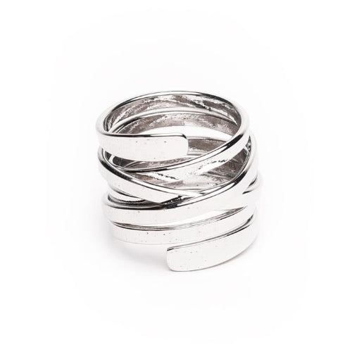GUNG JEWELLERY Ring: Adel Silver