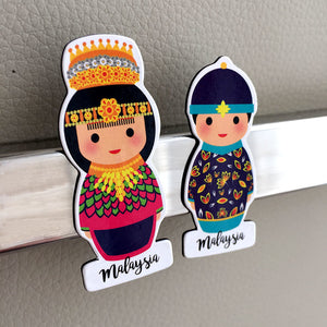 Malaysian Couple Magnet