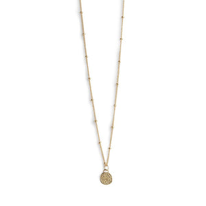 Baha Ball Chain Gold Necklace