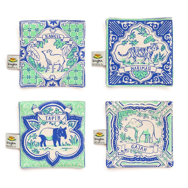 Bingka Coaster Set
