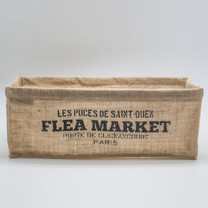 Box / Rectangular - Flea Market