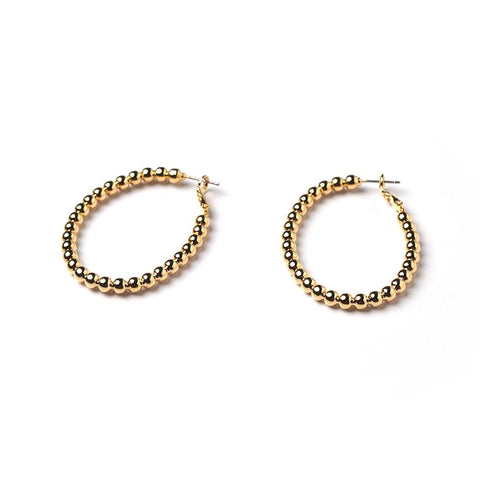 GUNG JEWELLERY Earrings: Charlotte Hoop Gold