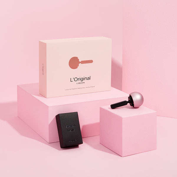 L'ORIGINAL Car Fragrance Combo Pack: Rose Gold