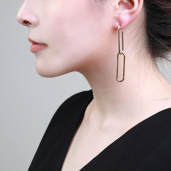Duo Pin Earring