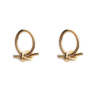 Eva Knotted Earrings