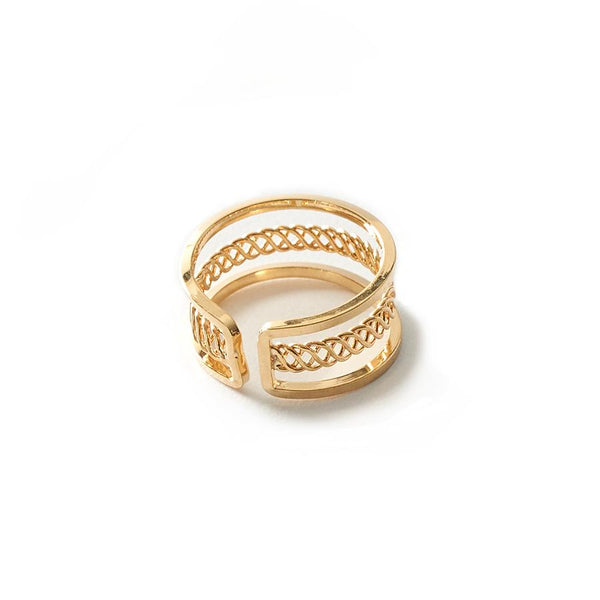 Eva Twisted Ring