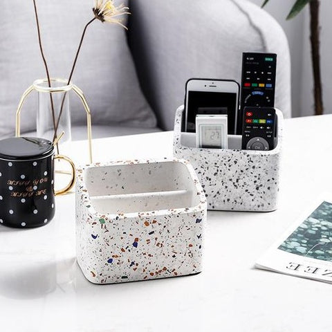 Caylin Terrazzo 2 Compartments Holder