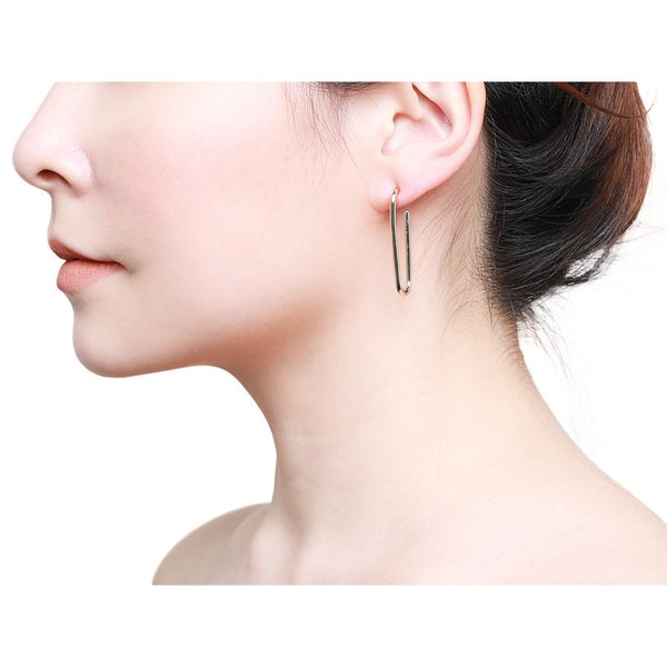 GUNG JEWELLERY Earrings: Pin Gold