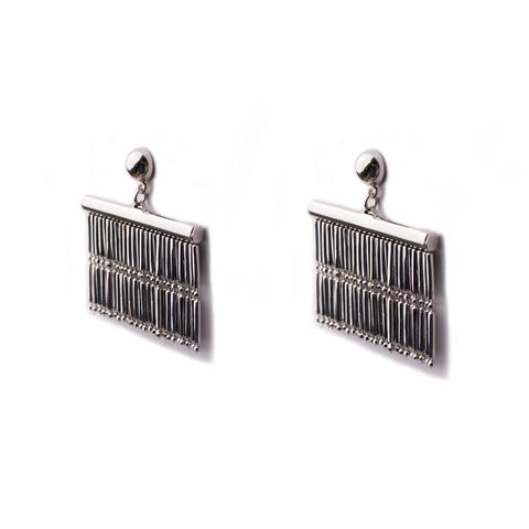 Hana Silver Earrings