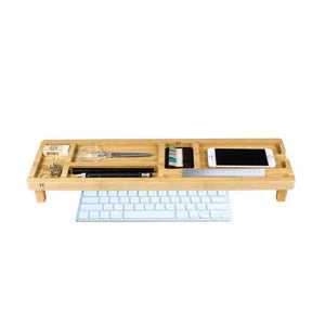 CO EXIST Desk Organizer: White