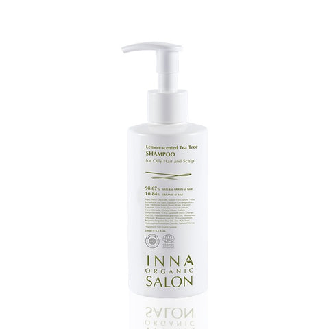 MANO PLUS | INNA ORGANIC Lemon-Tea Tree Shampoo for Oily Hair and Scalp