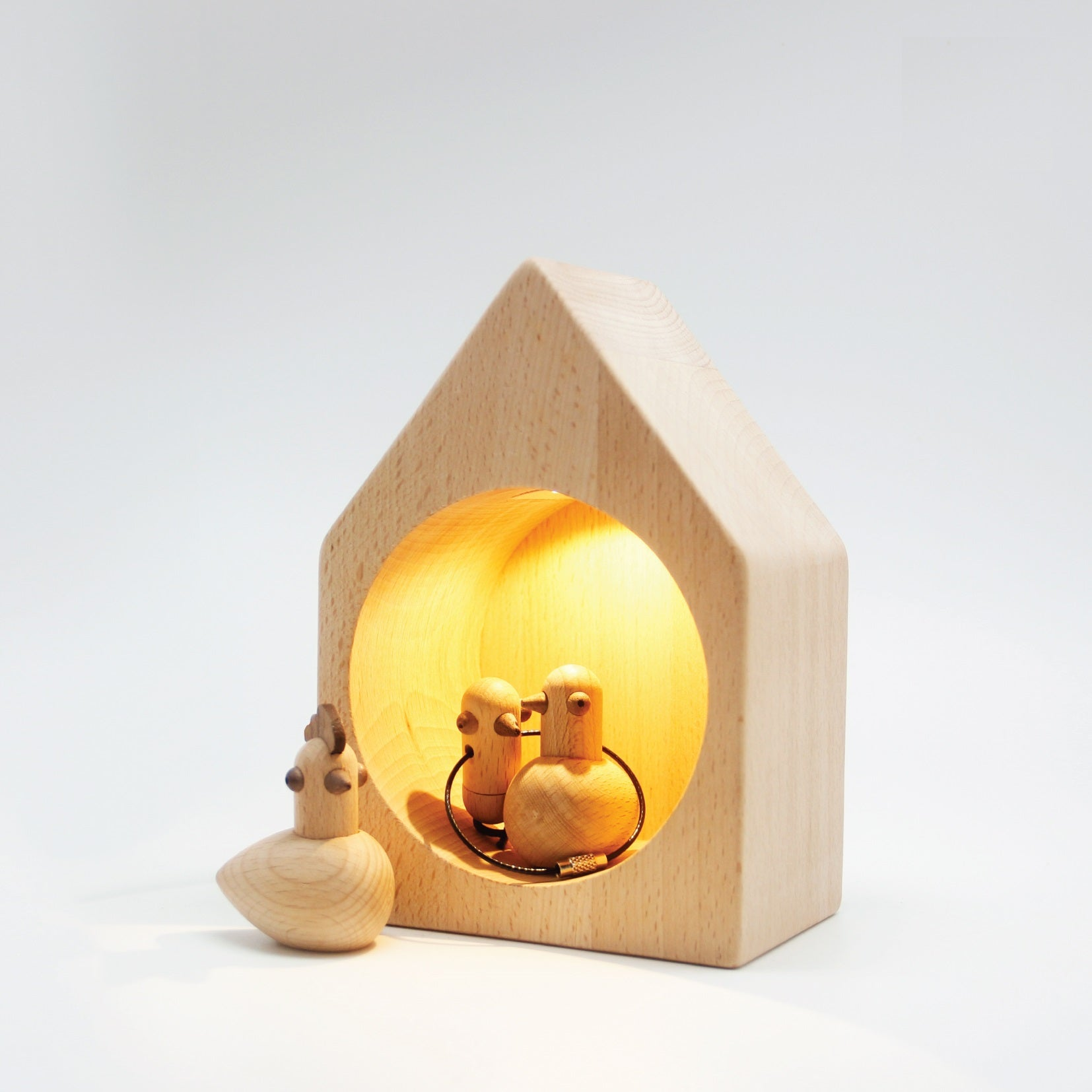 TORROS Log Cabin Lights: Fat Bird