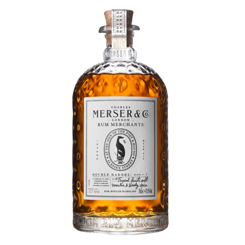Merser Double Barrel London Blended Rum 43.1% 700ml