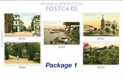 Old Penang Postcards