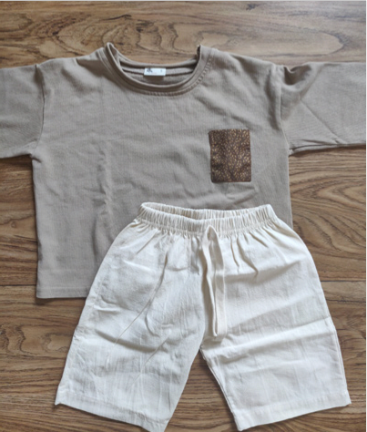 Baby Unisex Clothing Set (Top + Shorts) Collection