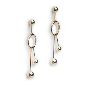 Pam Gold Earrings