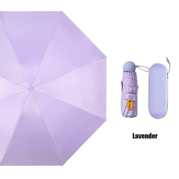 Layla Portable Capsule Umbrella UPF50