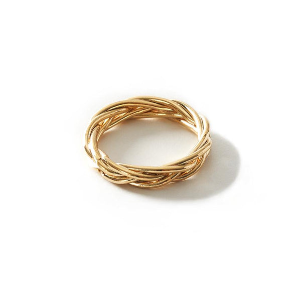 Ruff Gold Ring