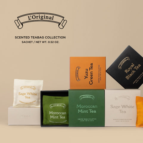 L'ORIGINAL Scented Tea Bag Collection