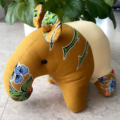 Soft Toy Decor - Batik Tapir