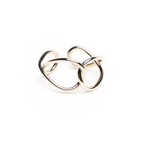 Tyra Twist Gold Ring