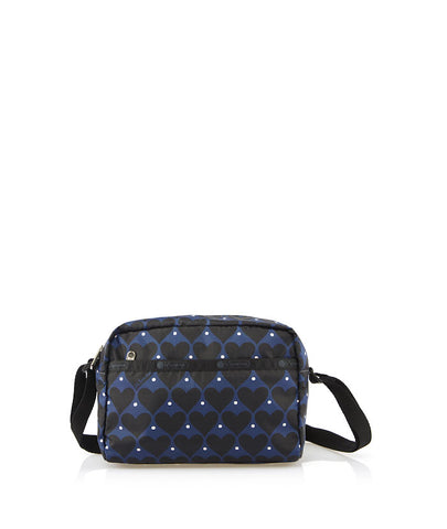 Daniella Crossbody | House Of Hearts Blue - LeSportsac Malaysia