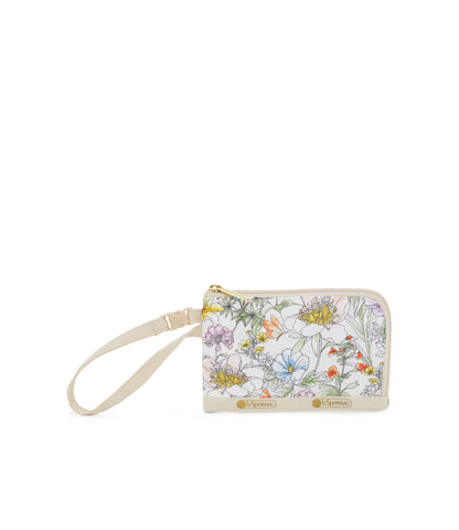 Curved Coin Pouch - Botanically | LeSportsac