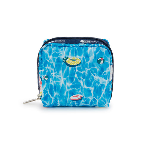 Medium Square Cosmetic Pouch - Pool Party - LeSportsac