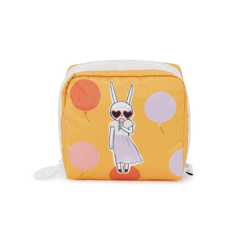 Medium Square Cosmetic Pouch - Gelato Girl | Fifi Lapin x LeSportsac