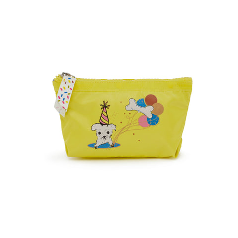 Small Sloan Cosmetic Pouch - Happy Dog | LeSportsac