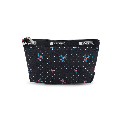 Small Sloan Cosmetic Pouch - Flamingo Beach - LeSportsac