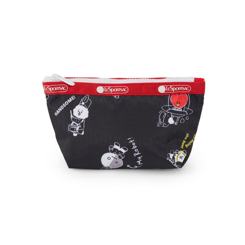Small Sloan Cosmetic pouch - BT21 Black Accessories | LeSportsac