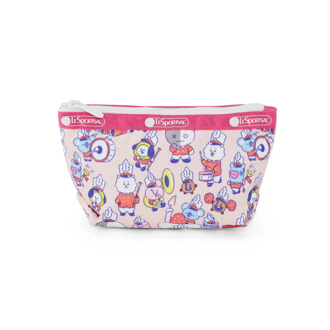 Small Sloan Cosmetic pouch - BT21 Multi Accessories | LeSportsac