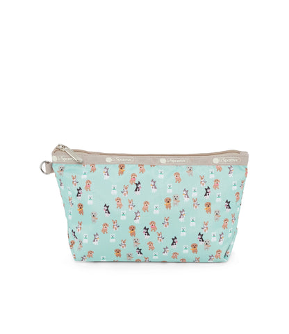 Medium Sloan Cosmetic pouch - Party Pups | LeSportsac Malaysia