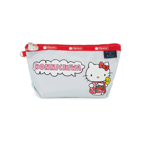 Medium Sloan Cosmetic pouch - Konnichiwa Hello Kitty | LeSportsac