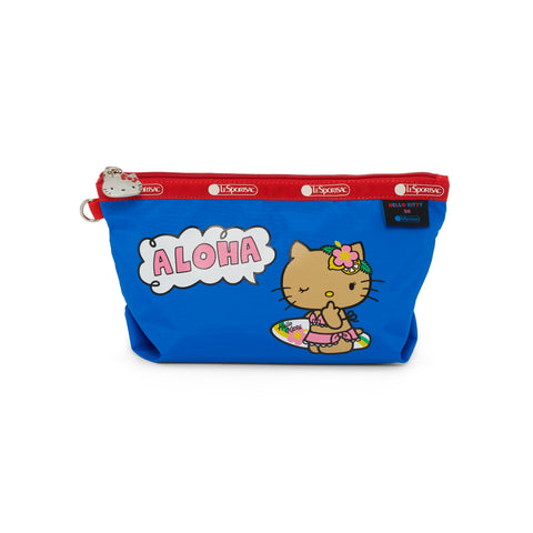 Medium Sloan Cosmetic pouch - Aloha Hello Kitty | LeSportsac