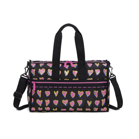 Medium Juno Weekender 45 Travel Bag - The Hearts