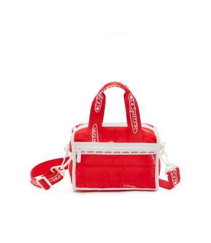 Matelasse Emma Satchel - Quilted Love Red | LeSportsac